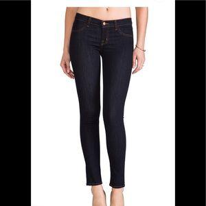 J Brand super skinny starless jeans